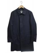 EDIFICE(エディフィス)の古着「ライナー付ステンカラーコート」 ネイビー