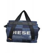 diesel(ディーゼル)の古着「デニムサッチェルバッグ」 インディゴ