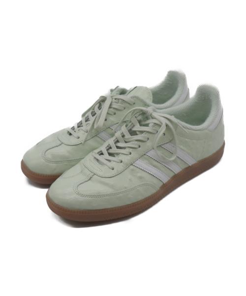 adidas(アディダス)adidas (アディダス) SAMBA W NAKED ライトグリーン サイズ:28.5 BB1144の古着・服飾アイテム