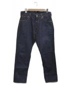 EVISU(エビス)の古着「セルビッチデニムパンツ」 ブルー
