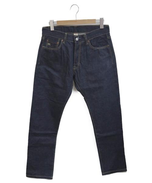 RRL(ダブルアールエル)RRL (ダブルアールエル) スリムフィットデニムパンツ ネイビー サイズ:w32の古着・服飾アイテム