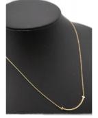 Tiffany & Co.(ティファニー)の古着「Tスマイルミニネックレス」 ゴールド
