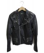 FAD3(ファッドスリ)の古着「レザージャケット」|ブラック