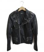 FAD3(ファドスリー)の古着「レザージャケット」 ブラック