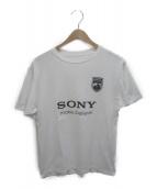 ()の古着「SONYプリントTシャツ」 ホワイト