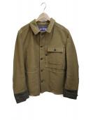 JUNYA WATANABE MAN(ジュンヤワタナベ マン)の古着「Canvas Tweed Chore Jacket」|カーキ