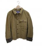 JUNYA WATANABE MAN(ジュンヤワタナベマン)の古着「Canvas Tweed Chore Jacket」 カーキ