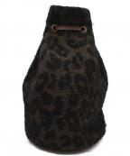 forte forte(フォルテフォルテ)の古着「ジャガードモヘアリュック」|ブラック