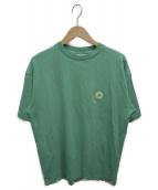 DROLE DE MONSIEUR(ドロール ド ムッシュ)の古着「半袖Tシャツ」|グリーン