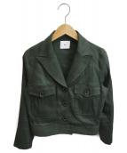 Sov.(ソブ)の古着「セットアップジャケット」|オリーブ