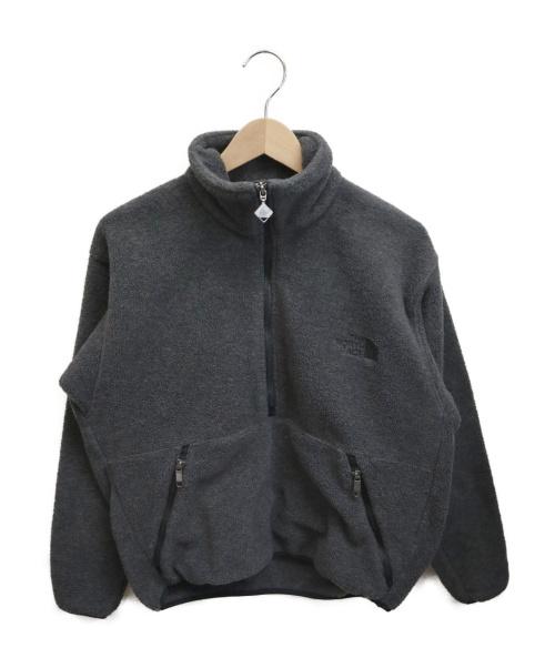 THE NORTH FACE(ザノースフェイス)THE NORTH FACE (ザノースフェイス) アノラックフリースジャケット グレー サイズ:Sの古着・服飾アイテム