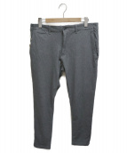 The DUFFER of ST.GEORGE(ザ・ダファー・オブ・セントジョージ)の古着「STRETCH TROUSERS」|グレー
