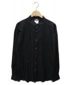 D&G(ディーアンドジー)の古着「バンドカラーシャツ」|ブラック