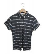 MUNSING WEAR(マンシングウェア)の古着「ポロシャツ」|ブラック