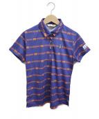 MUNSING WEAR(マンシングウェア)の古着「ポロシャツ」|ブルー