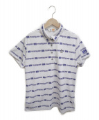 MUNSING WEAR(マンシングウェア)の古着「ポロシャツ」|ホワイト