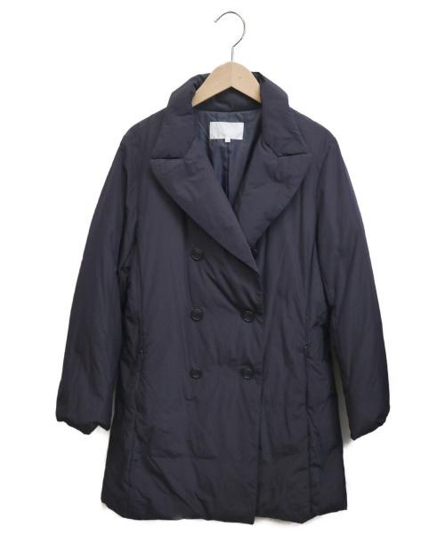 自由区(ジユウク)自由区 (ジユウク) ダウンコート ネイビー サイズ:40の古着・服飾アイテム