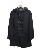 HUNTING WORLD(ハンティングワールド)の古着「ダッフルコート」 ブラック