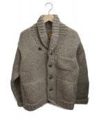 CANADIAN SWEATER(カナディアンセーター)の古着「ウールニットジャケット」 ブラウン