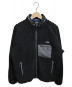 ONLY NY(オンリーニューヨーク)の古着「フリースボアジャケット」|ブラック