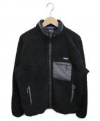 ONLY NY(オンリーニューヨーク)の古着「フリースボアジャケット」 ブラック