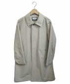 MAISON SPECIAL(メゾンスペシャル)の古着「テックファブリックスリーレイヤーステンカラーコート」|ベージュ