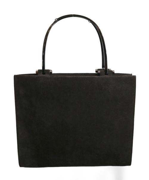 GUCCI(グッチ)GUCCI (グッチ) スエードハンドバッグ ブラウン 1705の古着・服飾アイテム