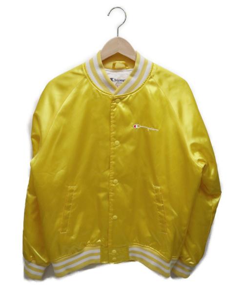 SUPREME×Champion(シュプリーム×チャンピオン)SUPREME×Champion (シュプリーム×チャンピオン) Satin Jacket イエロー サイズ:Mの古着・服飾アイテム