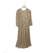 MARIHA(マリハ)の古着「マドモワゼルのドレス」|フレンチガーデン/キャメル