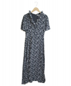 MARIHA(マリハ)の古着「夏のパリジェンヌのドレス」|シングルフラワー/ブラック