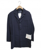 Fraizzoli(フライツォーリ)の古着「モールスキンチェスターコート」|ネイビー