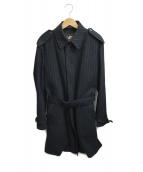 Paul Smith COLLECTION(ポールスミスコレクション)の古着「ライナー付ステンカラーコート」|ブラック