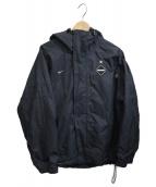 NIKE×FCRB(ナイキ×エフシーアールビ)の古着「フーデッドジャケット」|ブラック