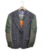 JUNYA WATANABE MAN(ジュンヤワタナベマン)の古着「MA-1 Blazer」 グレー×カーキ