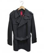 MACKINTOSH(マッキントッシュ)の古着「ゴム引きコート」|ブラック