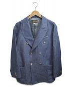 ORGUEIL(オルゲイユ)の古着「Double Jacket」|ブルー