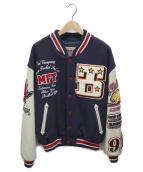 TED COMPANY(テッドカンパニー)の古着「スタジャン」|ネイビー