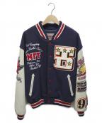 TED COMPANY(テッドカンパニー)の古着「スタジャン」 ネイビー