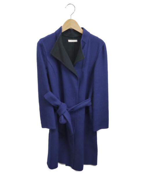 EPOCA(エポカ)EPOCA (エポカ) スタンドカラーコート ブルー サイズ:38の古着・服飾アイテム