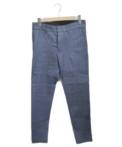 wjk(ダブルジェイケイ)wjk (ダブルジェイケイ) デニムスラックス ブルー サイズ:L 定価 14520円税込の古着・服飾アイテム
