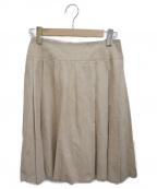 FOXEY BOUTIQUE(フォクシー ブティック)の古着「フレアスカート」|ベージュ