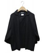 SOU・SOU(ソウソウ)の古着「ボタンジャケット」|ブラック