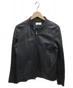 Luis(ルイス)の古着「シングルライダースジャケット」 ブラック