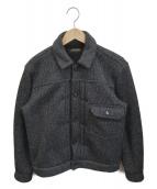 BROWNS BEACH JACKET(ブラウンズビーチジャケット)の古着「ビーチクロストラッカージャケット」|ブラック