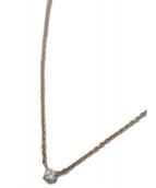 VENDOME AOYAMA(バンドームアオヤマ)の古着「K18ダイヤネックレス」