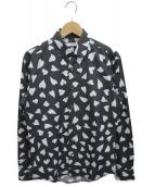 J.W. ANDERSON(ジェイダブリューアンダーソン)の古着「ハートプリントシャツ」|ブラック