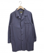 orgueil(オルゲイユ)の古着「ショップコート」|ブルー