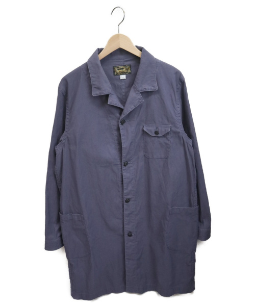 orgueil(オルゲイユ)orgueil (オルゲイユ) ショップコート ブルー サイズ:40表記の古着・服飾アイテム