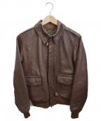 THE REAL McCOYS(ザ リアルマッコイズ)の古着「A-2フライトジャケット」 ブラウン