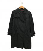 SANYO(サンヨー)の古着「ダウンライナー付トレンチコート」|ブラック